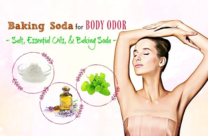 baking soda for body odor