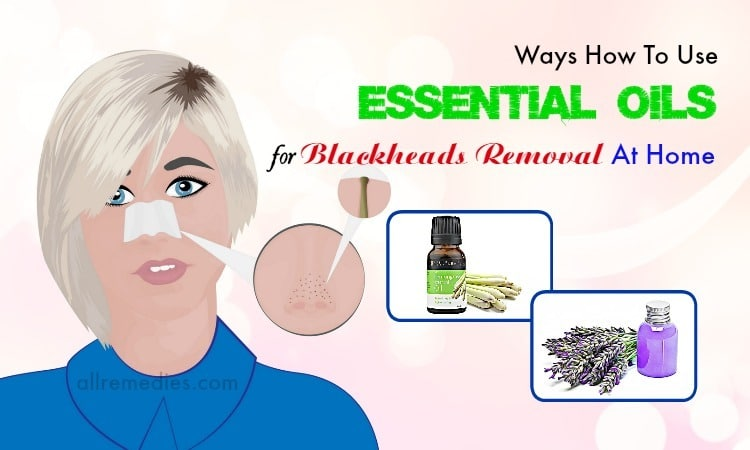 essential oils for blackheads