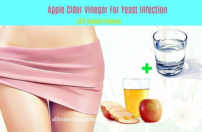 apple cider vinegar for yeast infection rash
