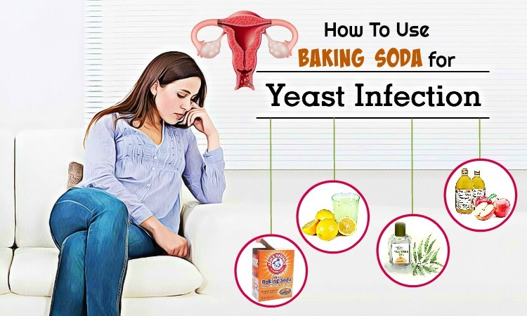 baking soda for yeast infection