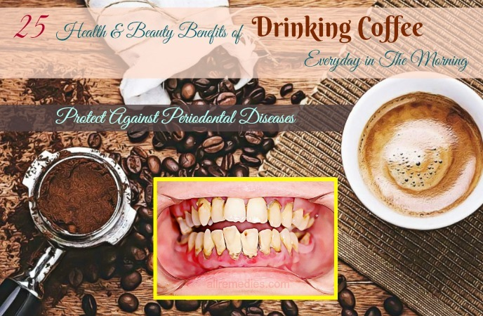 benefits of drinking coffee everyday