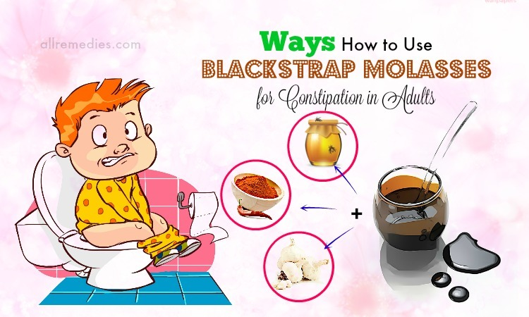 blackstrap molasses for constipation