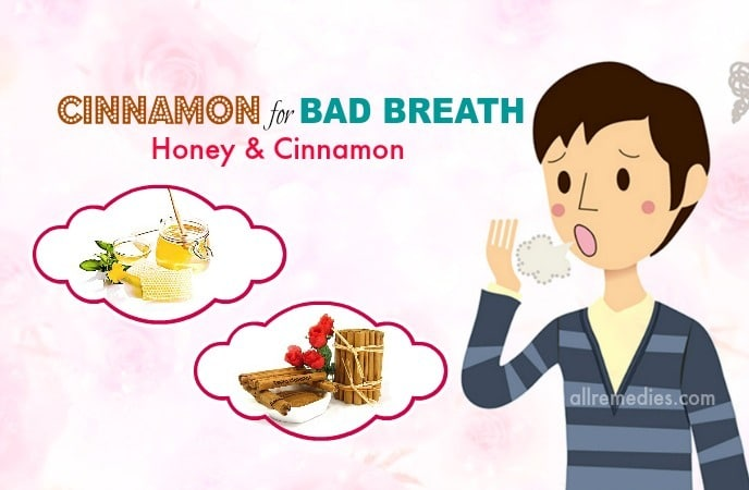 cinnamon for bad breath
