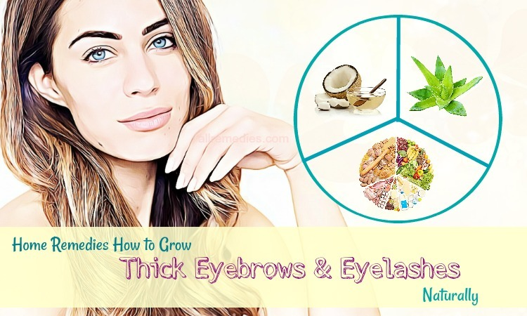 how to grow thick eyebrows and eyelashes