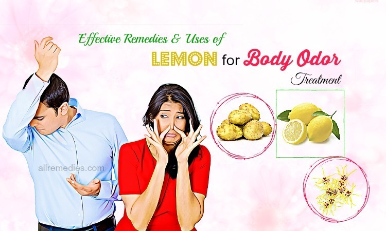 lemon for body odor