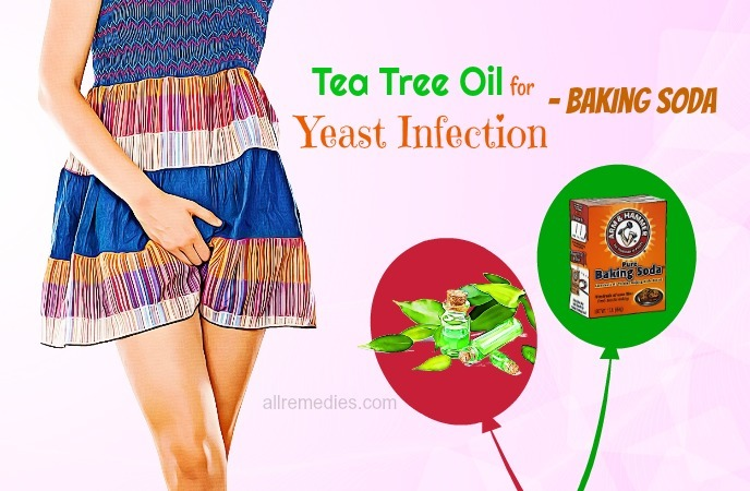 tea tree oil for yeast infection home remedies