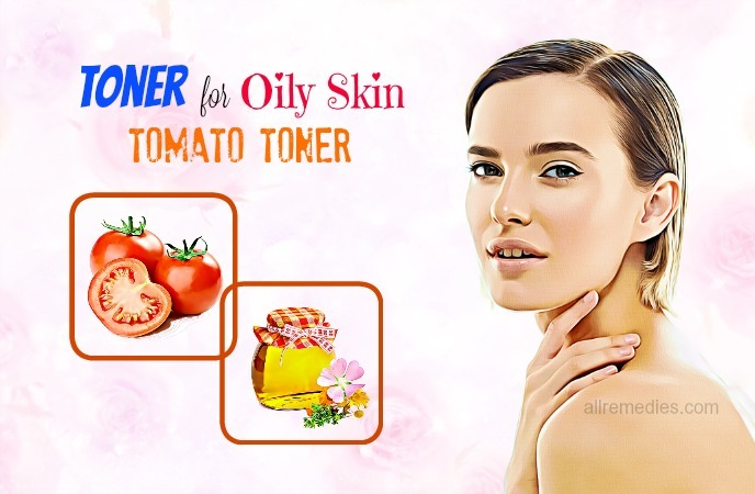 homemade toner for oily skin-tomato toner