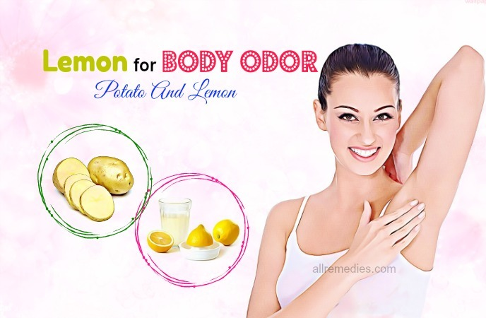 use of lemon for body odor