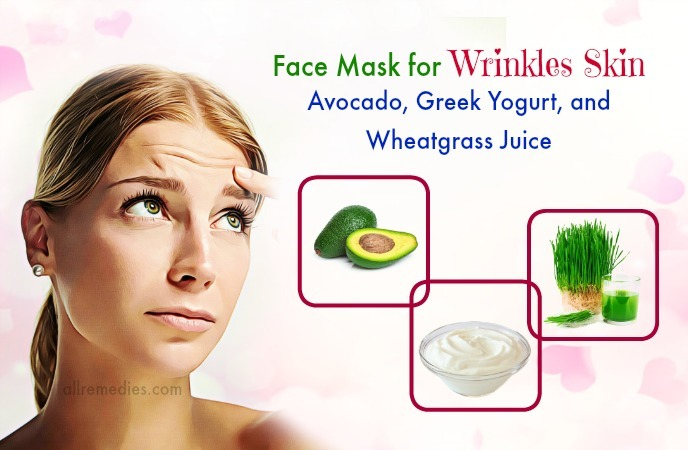 face mask for wrinkles at home -