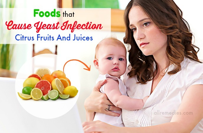 foods that cause yeast infections in babies