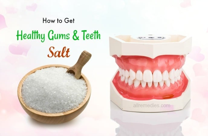 how to get healthy gums naturally