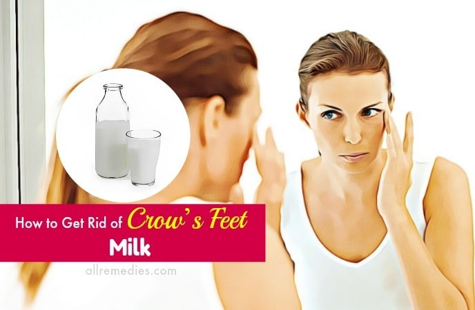 how to get rid of crows feet naturally