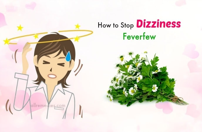 how to stop dizziness fast