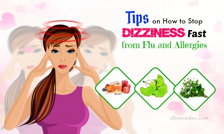 how to stop dizziness