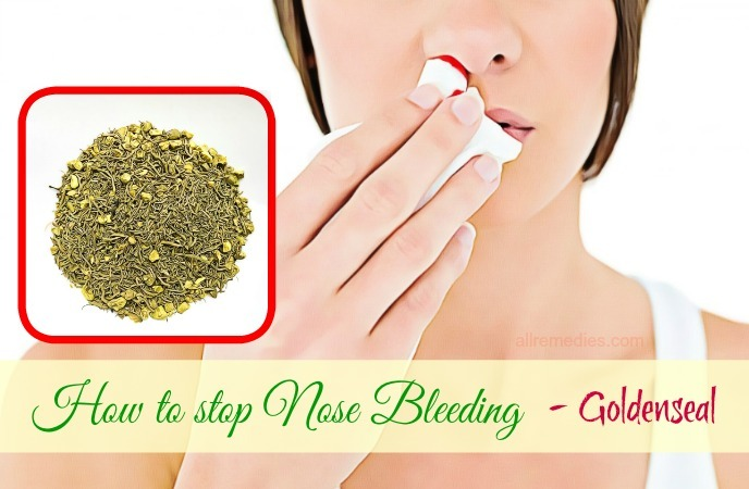 how to stop nose bleeding instantly