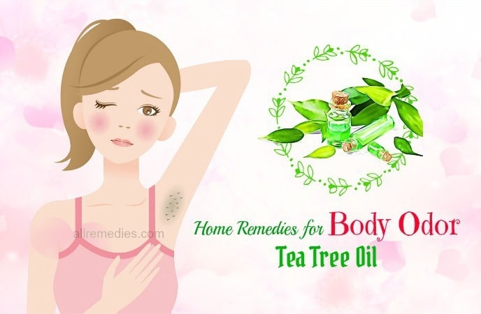 home remedies for body odor removal