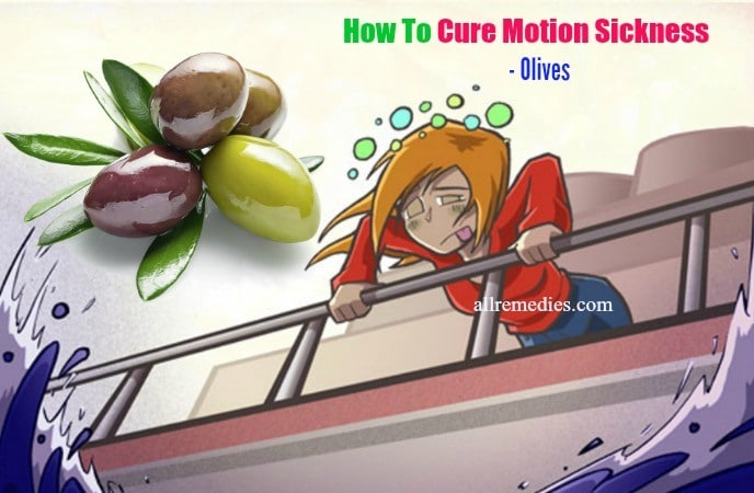 how to cure motion sickness naturally