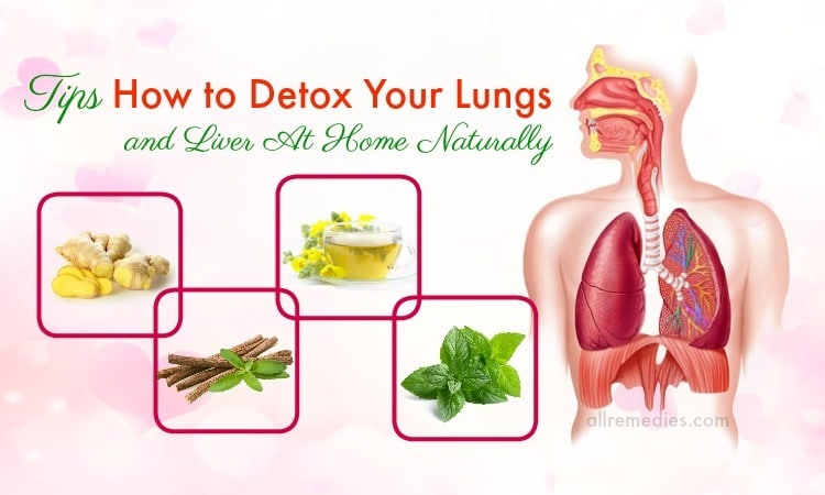 how to detox your lungs