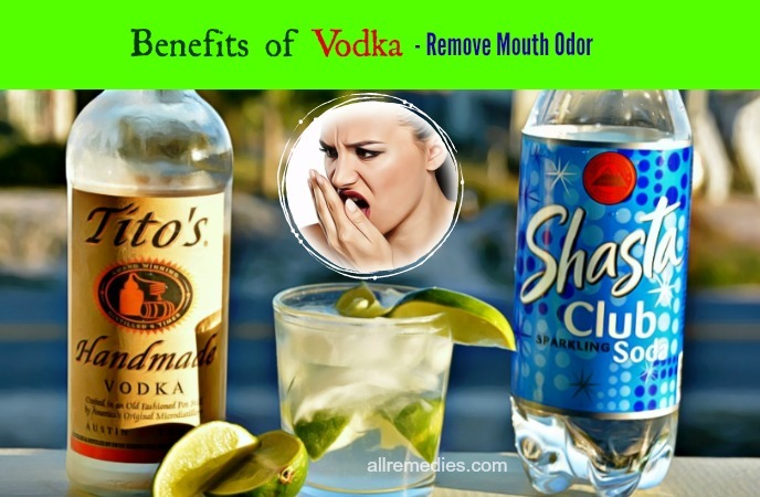 benefits of vodka