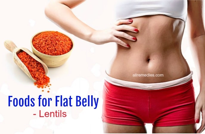 foods for flat belly
