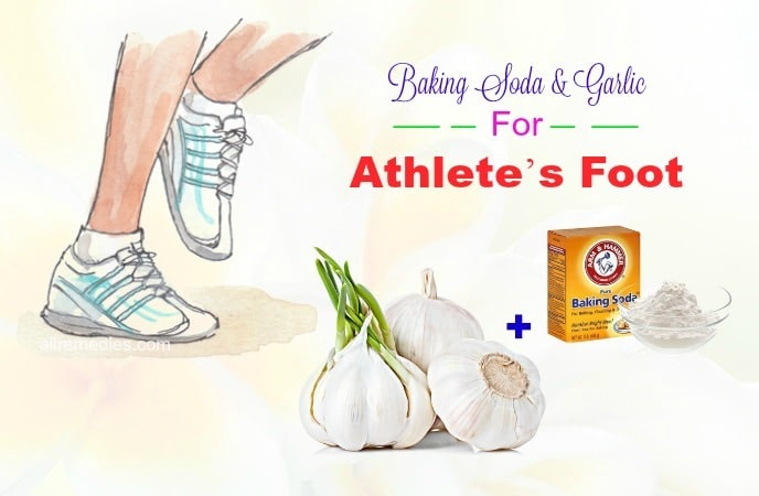 garlic for athletes foot