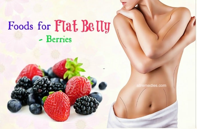 healthy foods for flat belly