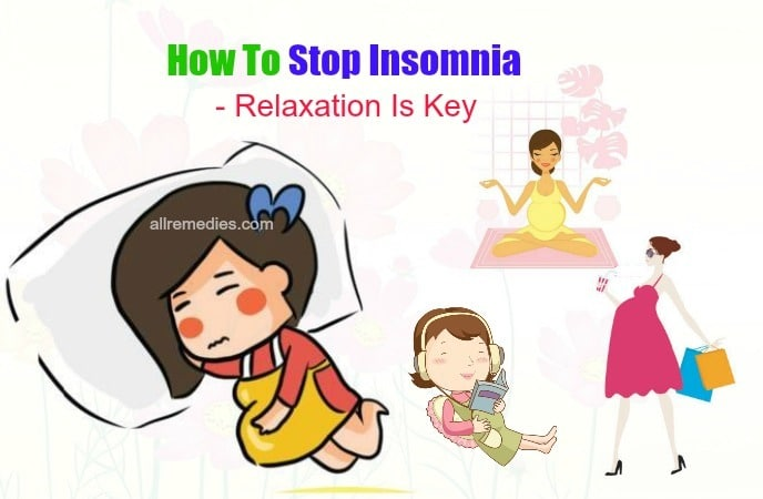 how to stop insomnia