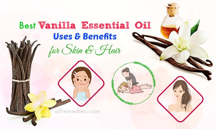 vanilla essential oil uses