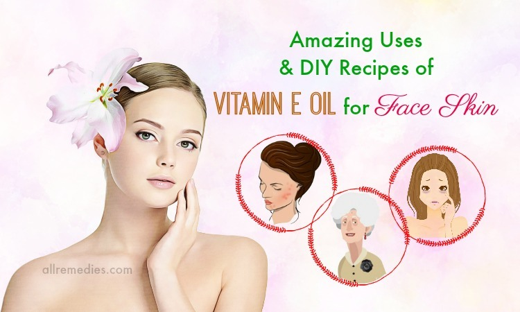 vitamin e oil for face